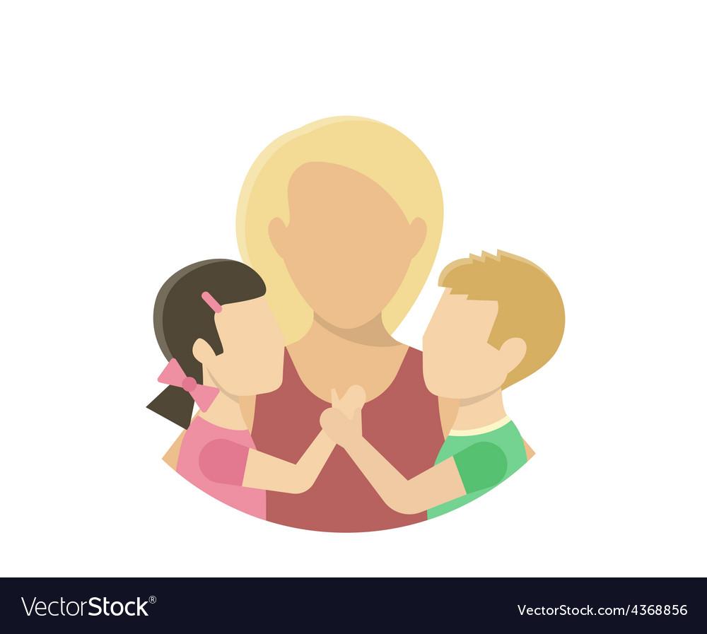 Motherhood vector | Price: 1 Credit (USD $1)