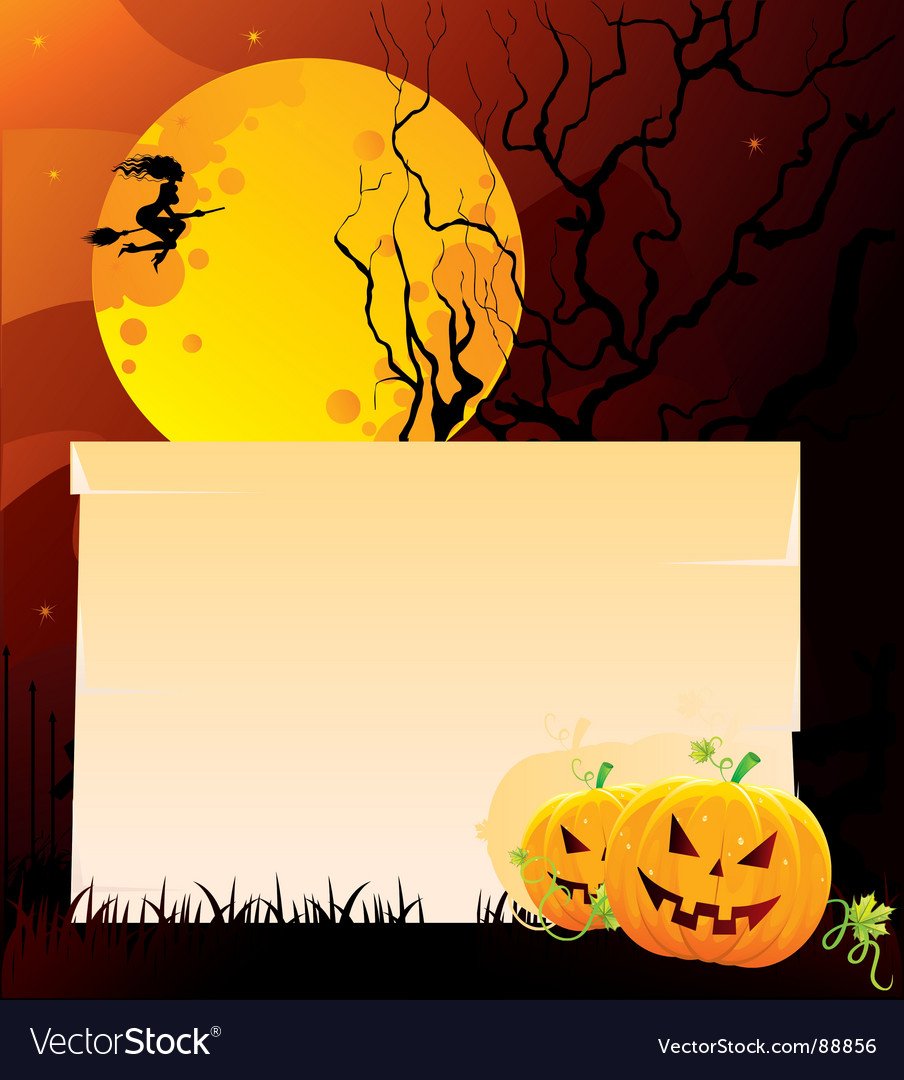 Pumpkin back vector | Price: 1 Credit (USD $1)