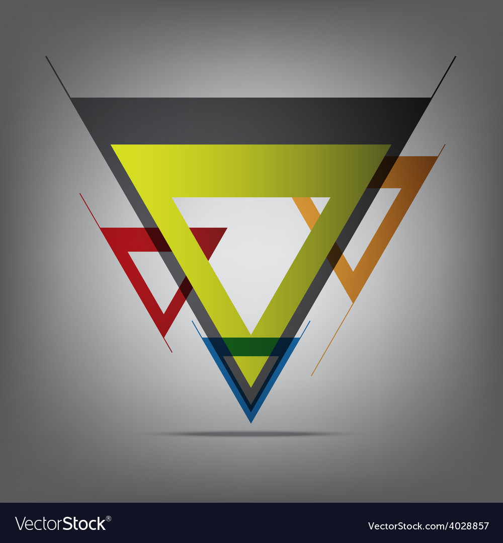 Abstract decorative arrow vector | Price: 1 Credit (USD $1)