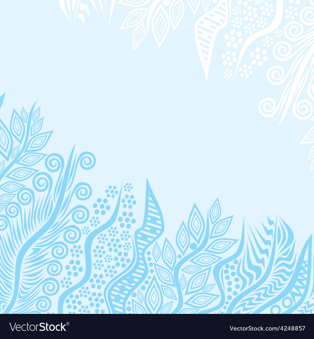 Nature pattern background vector | Price: 1 Credit (USD $1)
