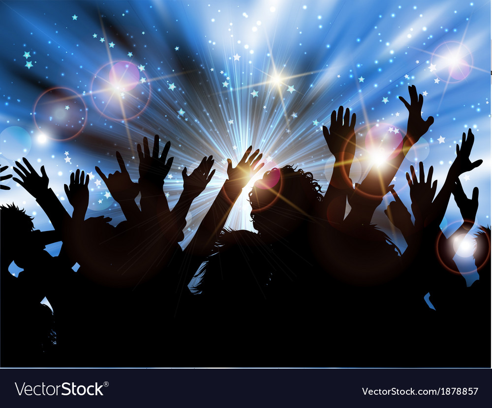 Party crowd vector | Price: 1 Credit (USD $1)