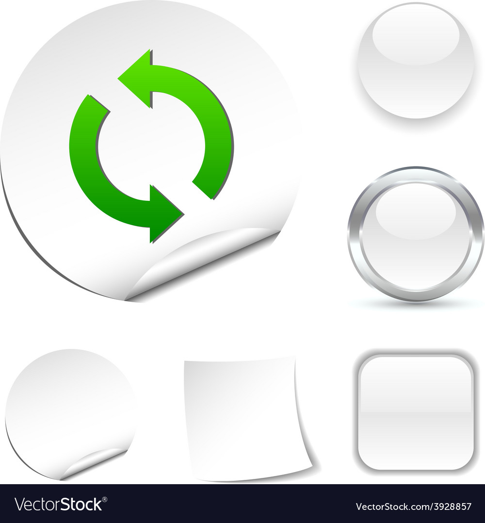 Refresh icon vector | Price: 1 Credit (USD $1)