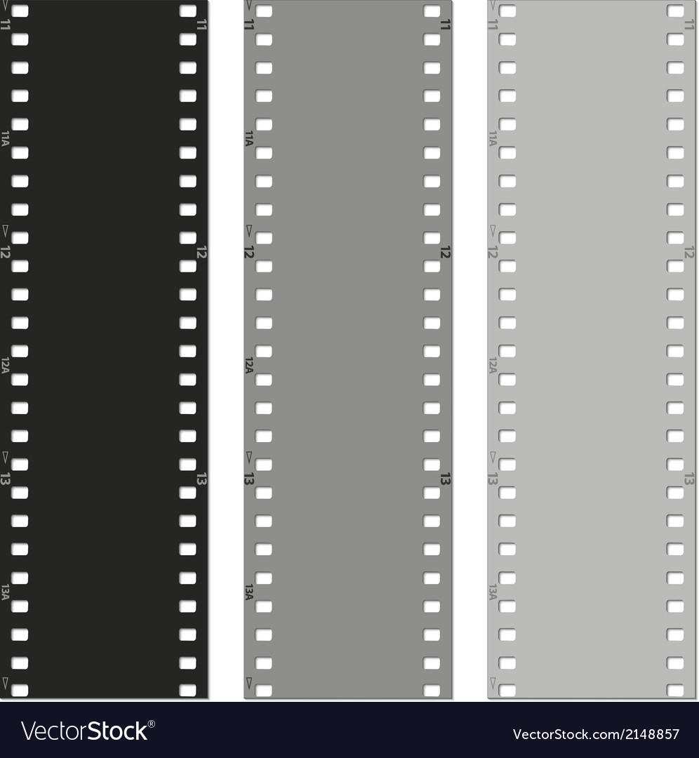 Set of films pattern background vector | Price: 1 Credit (USD $1)
