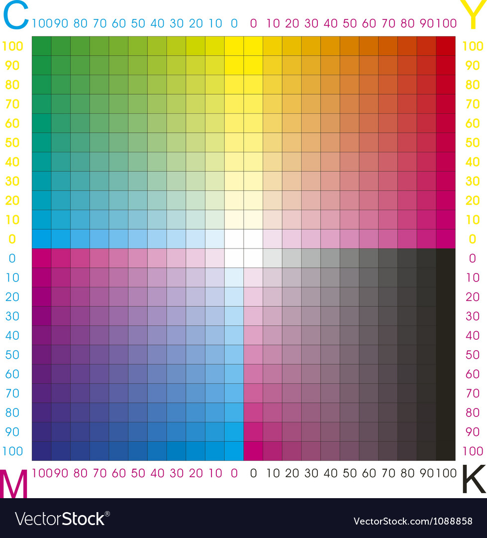Cmyk color vector | Price: 1 Credit (USD $1)
