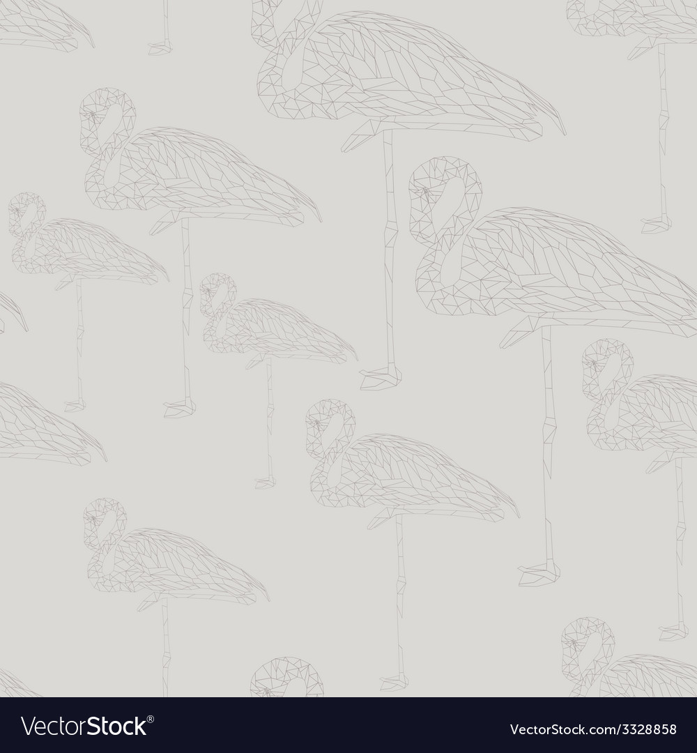 Flamingostand18 vector | Price: 1 Credit (USD $1)