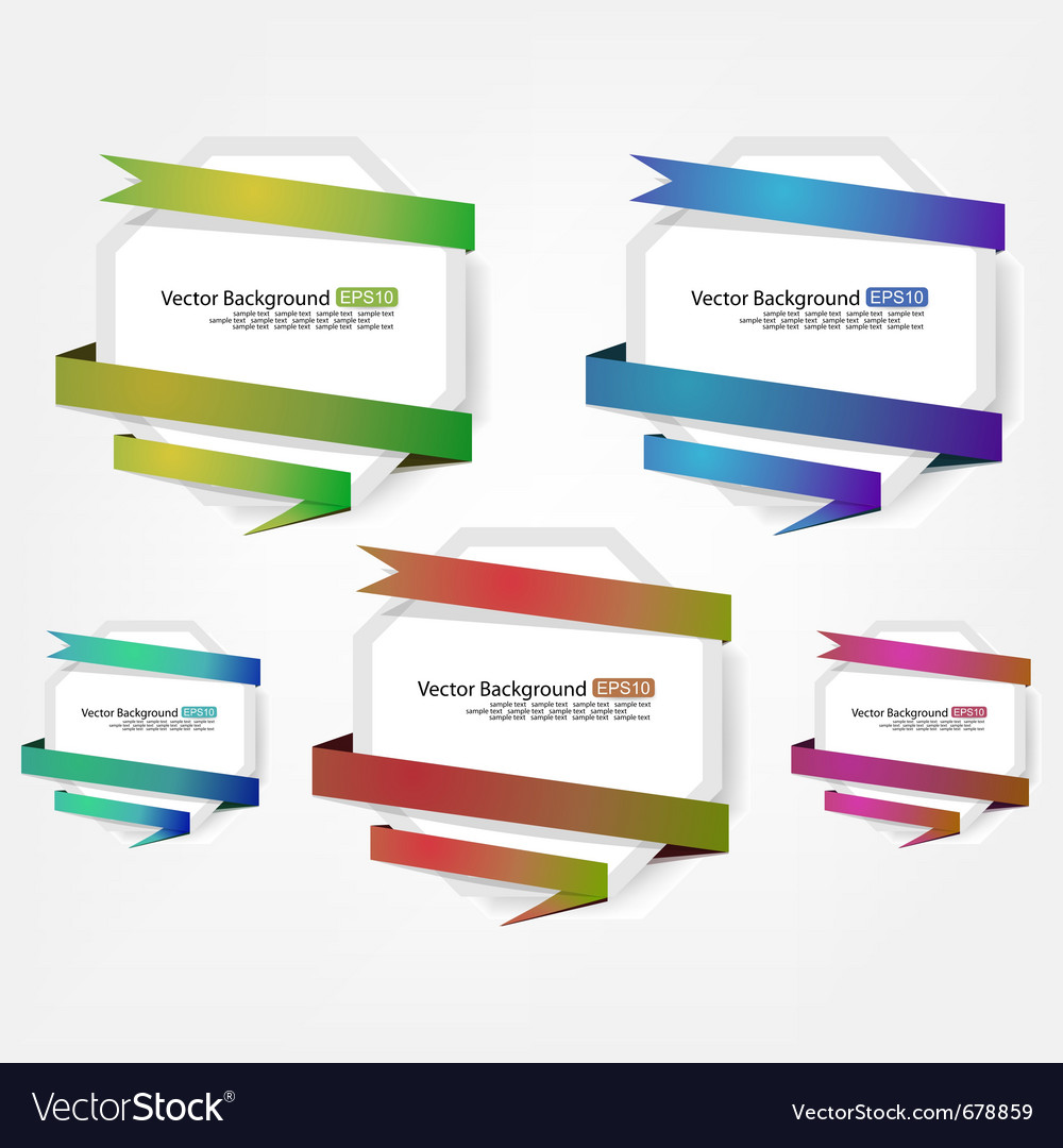 Advertising label vector | Price: 1 Credit (USD $1)