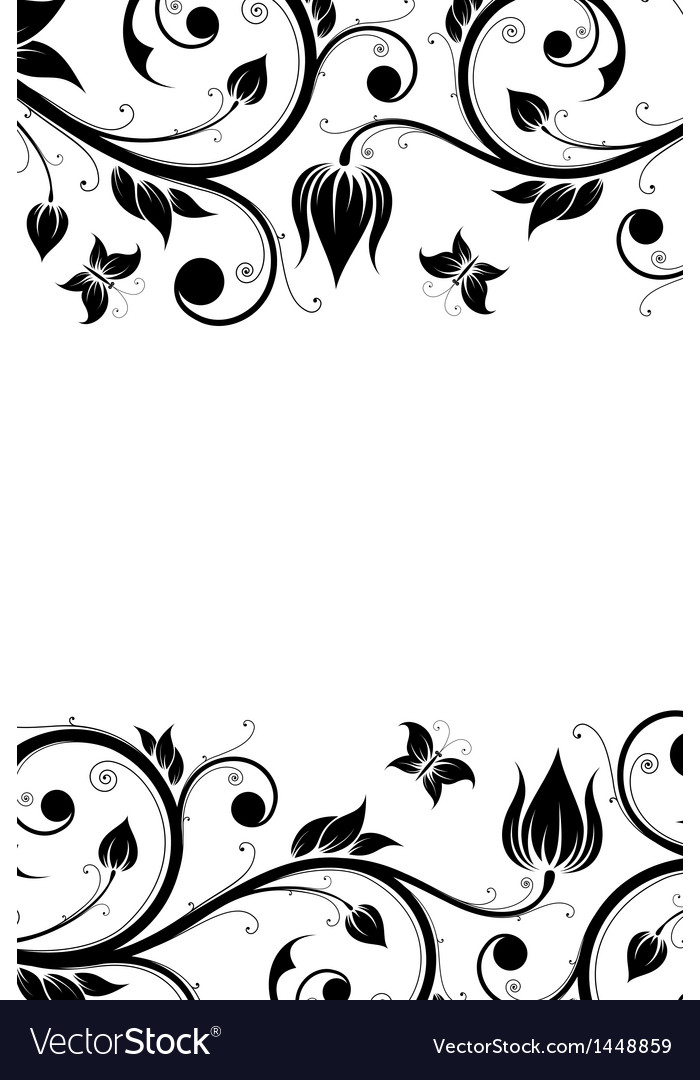 Floral design ornament vector | Price: 1 Credit (USD $1)