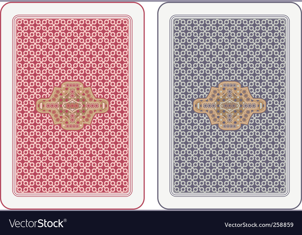 Playing cards design vector | Price: 1 Credit (USD $1)
