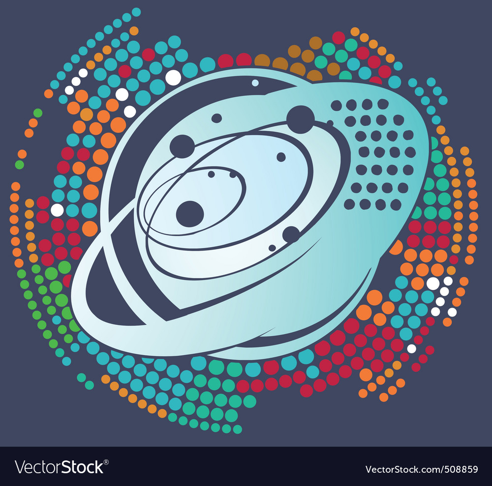 Space planet vector | Price: 1 Credit (USD $1)