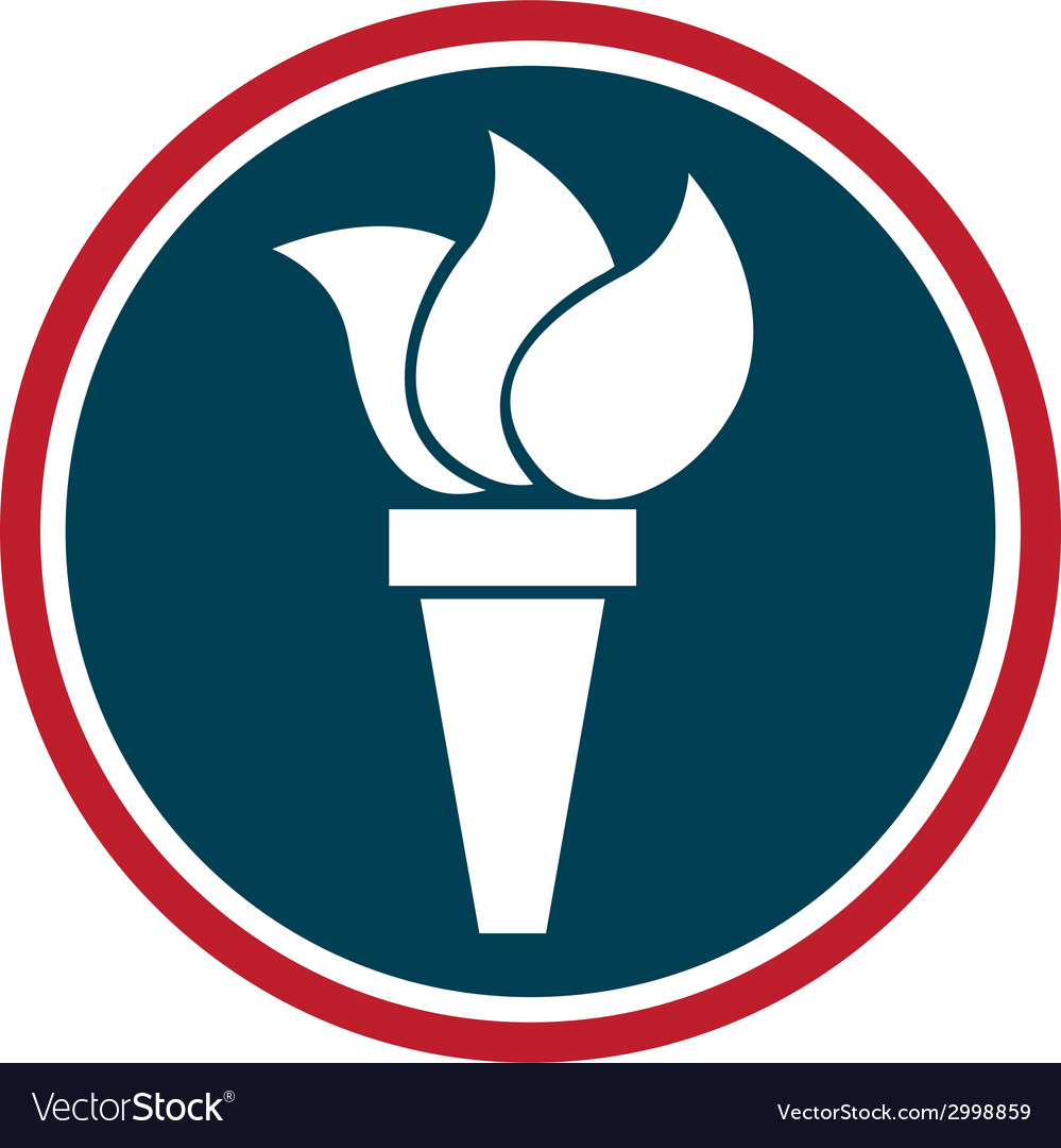 Torch design vector | Price: 1 Credit (USD $1)