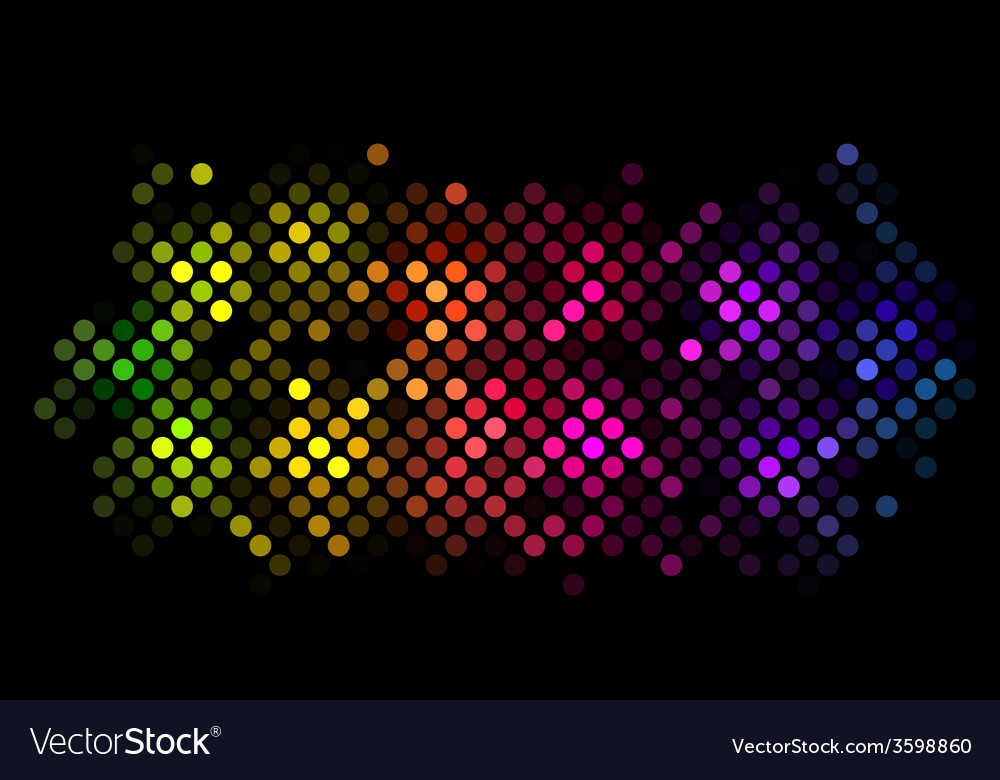 Abstract background with colorful lights vector | Price: 1 Credit (USD $1)