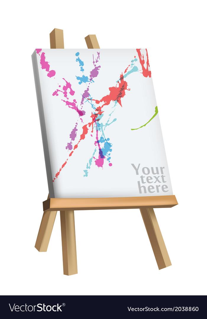 Canvas printer vector | Price: 1 Credit (USD $1)