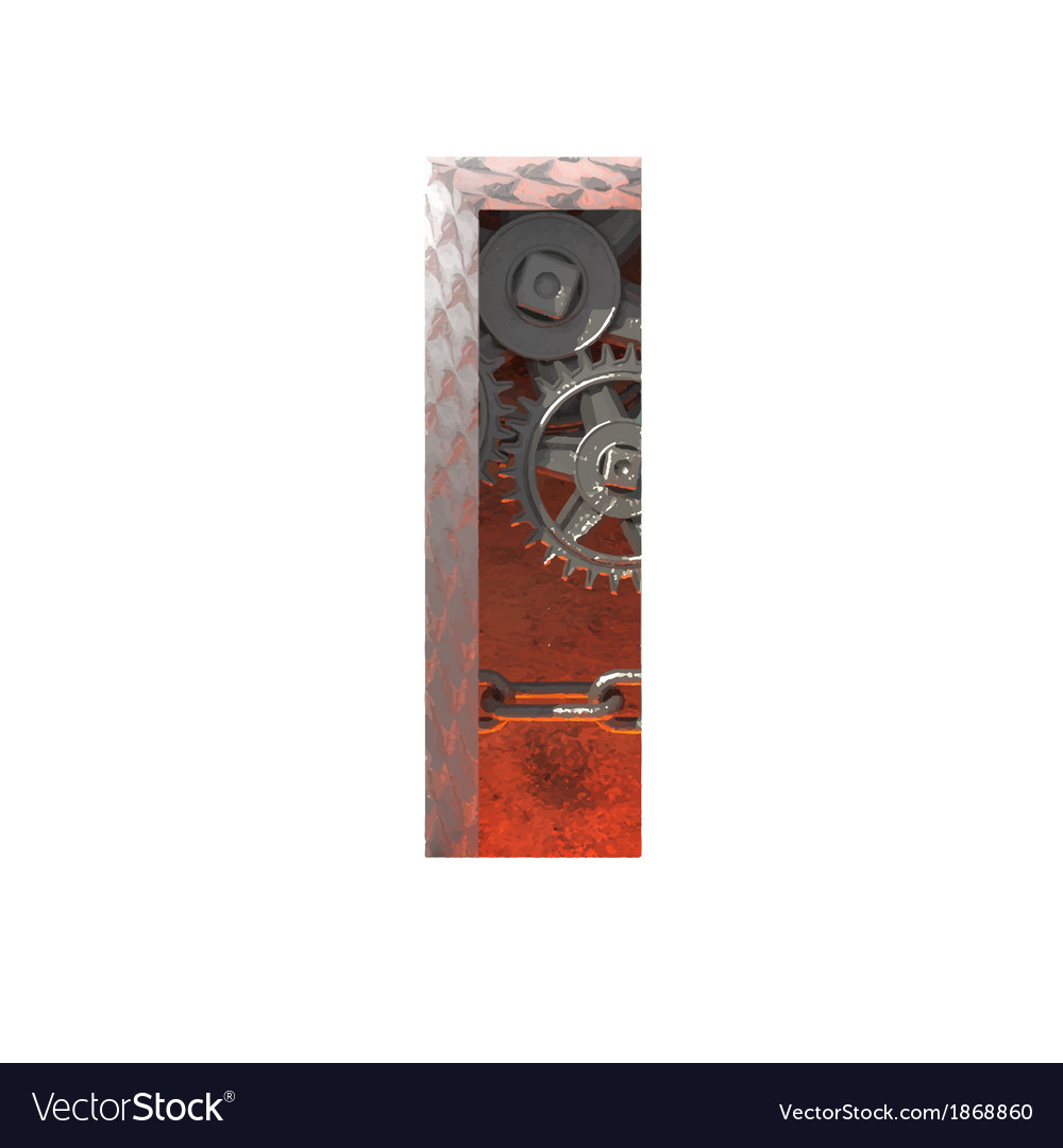 Gears cutted figure i paste to any background vector   Price: 1 Credit (USD $1)