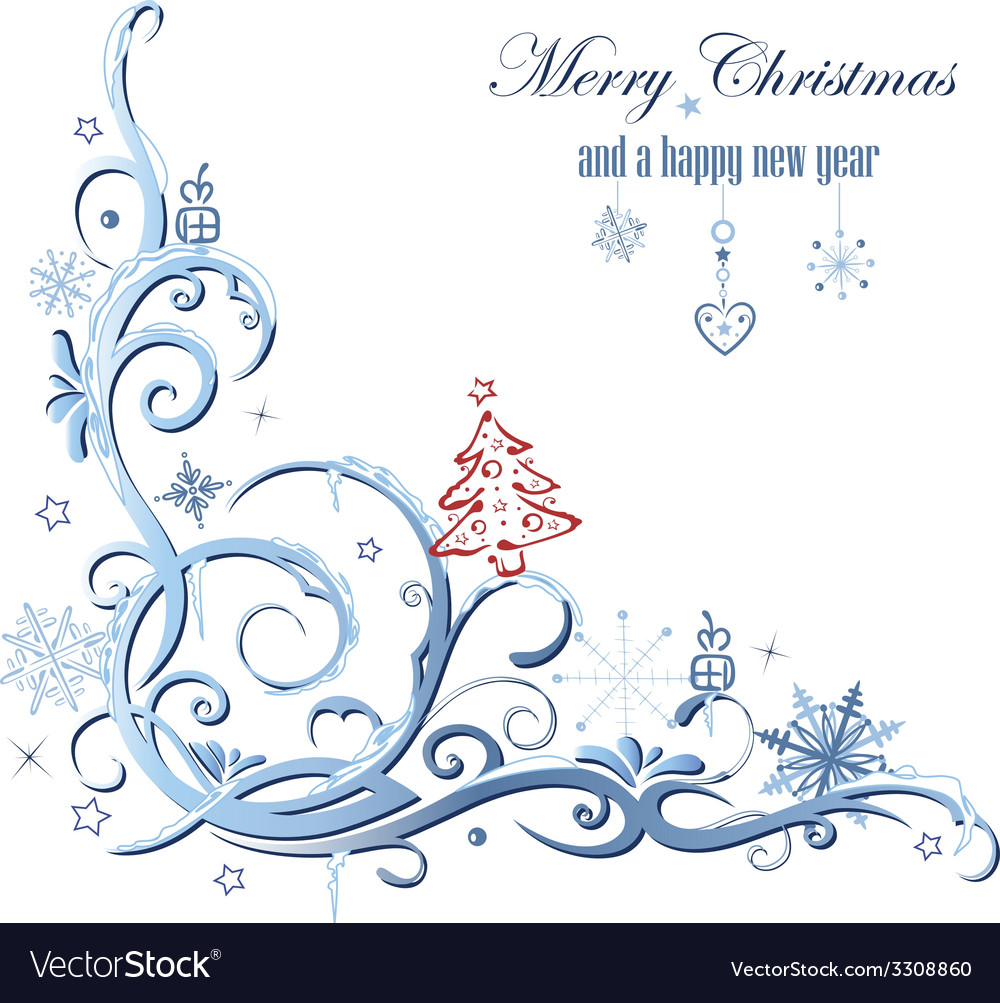Winter decoration vector | Price: 1 Credit (USD $1)