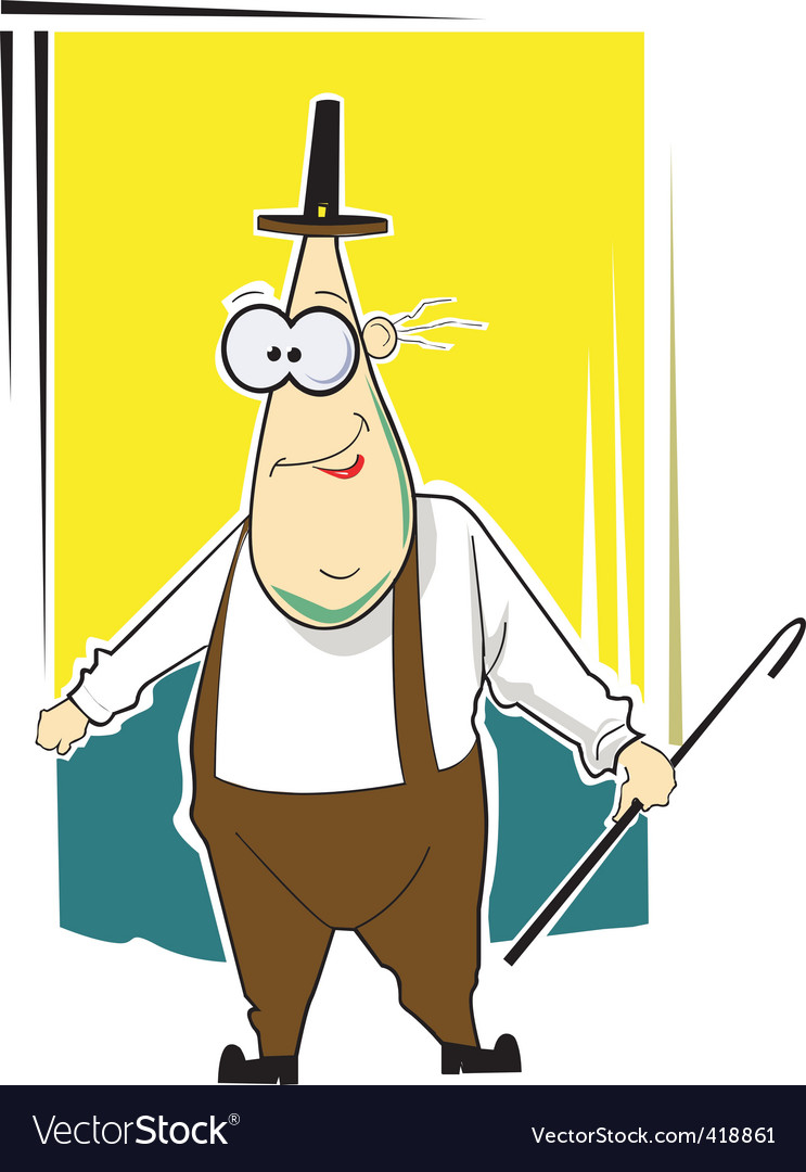 Cartoon man vector   Price: 1 Credit (USD $1)