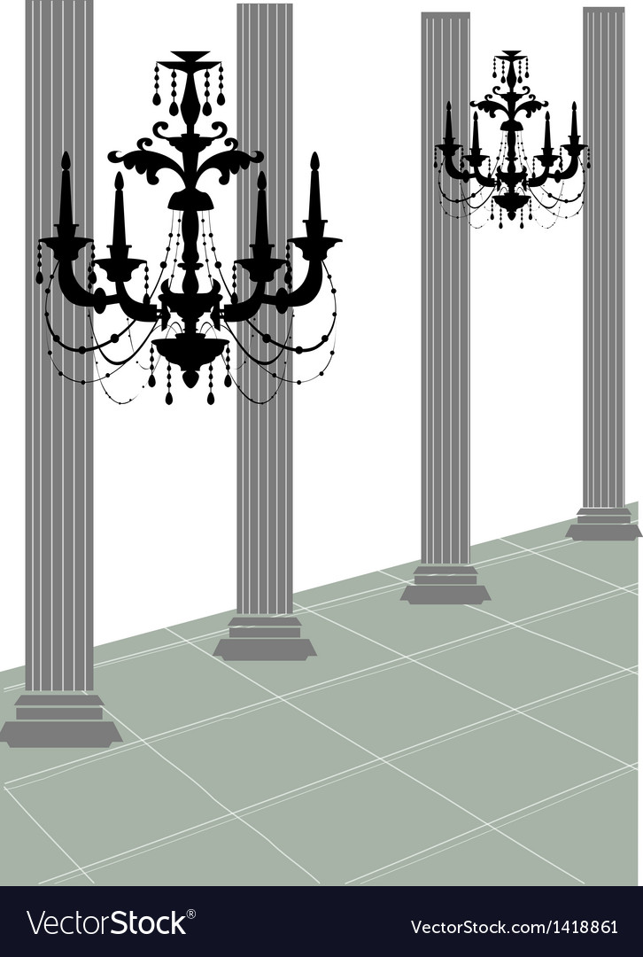 Chandler roman column vector | Price: 1 Credit (USD $1)