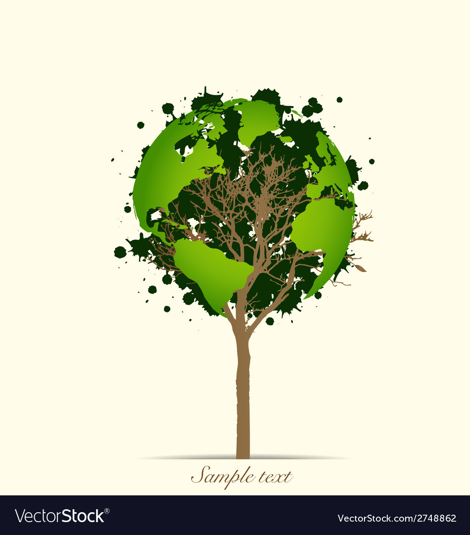 Abstract tree vector | Price: 1 Credit (USD $1)