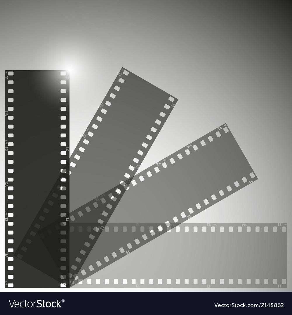 Film strip background vector | Price: 1 Credit (USD $1)