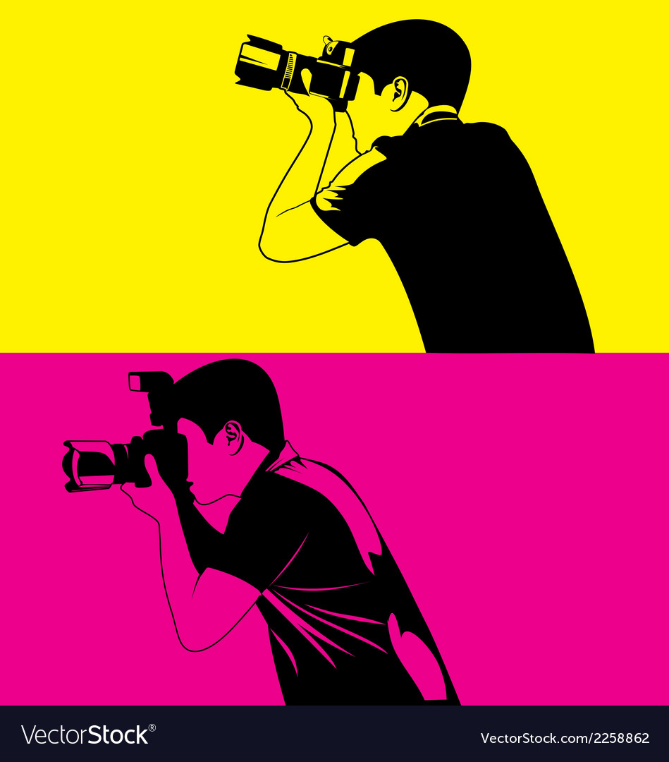 Photograper vector | Price: 1 Credit (USD $1)