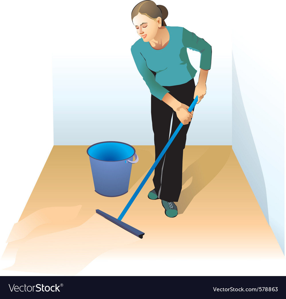Cleaner vector | Price: 1 Credit (USD $1)