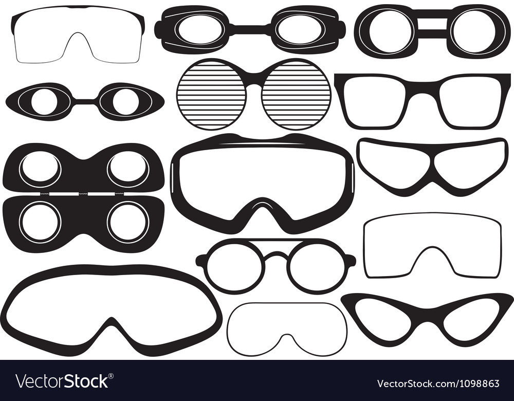 Goggles vector | Price: 1 Credit (USD $1)