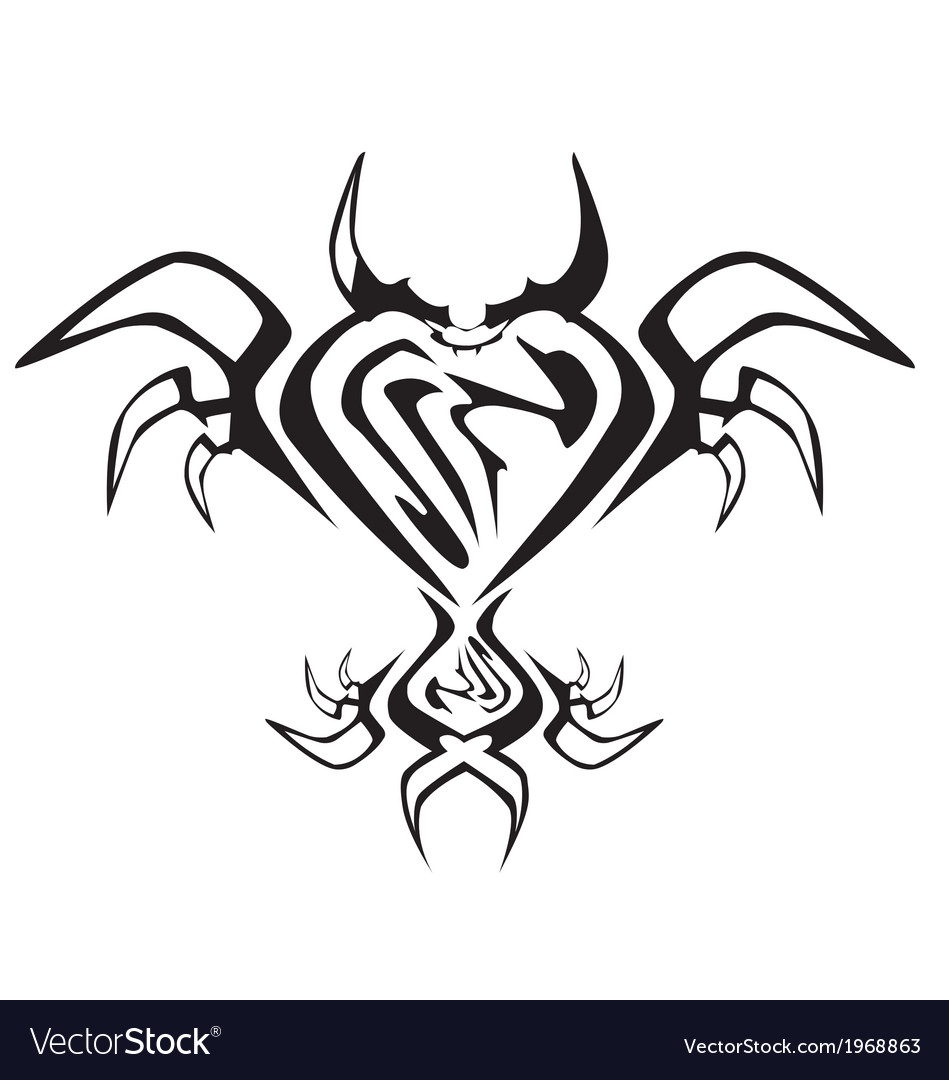 Heart shape wthe barb tattoo design for valentine vector | Price: 1 Credit (USD $1)