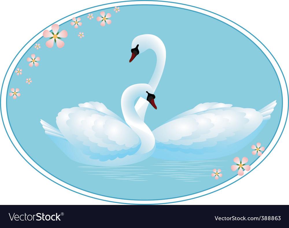 Swan lake vector | Price: 1 Credit (USD $1)