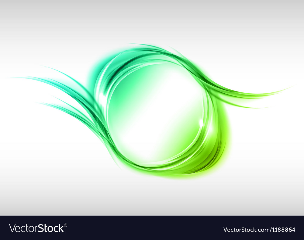 Abstract round green vector | Price: 1 Credit (USD $1)