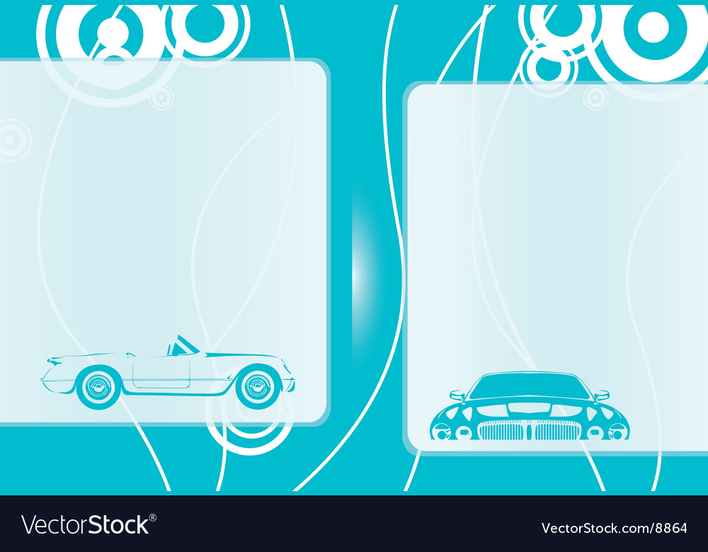 Automobile background vector | Price: 1 Credit (USD $1)