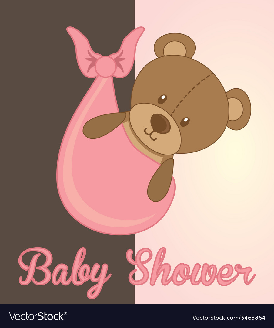 Baby card vector | Price: 1 Credit (USD $1)
