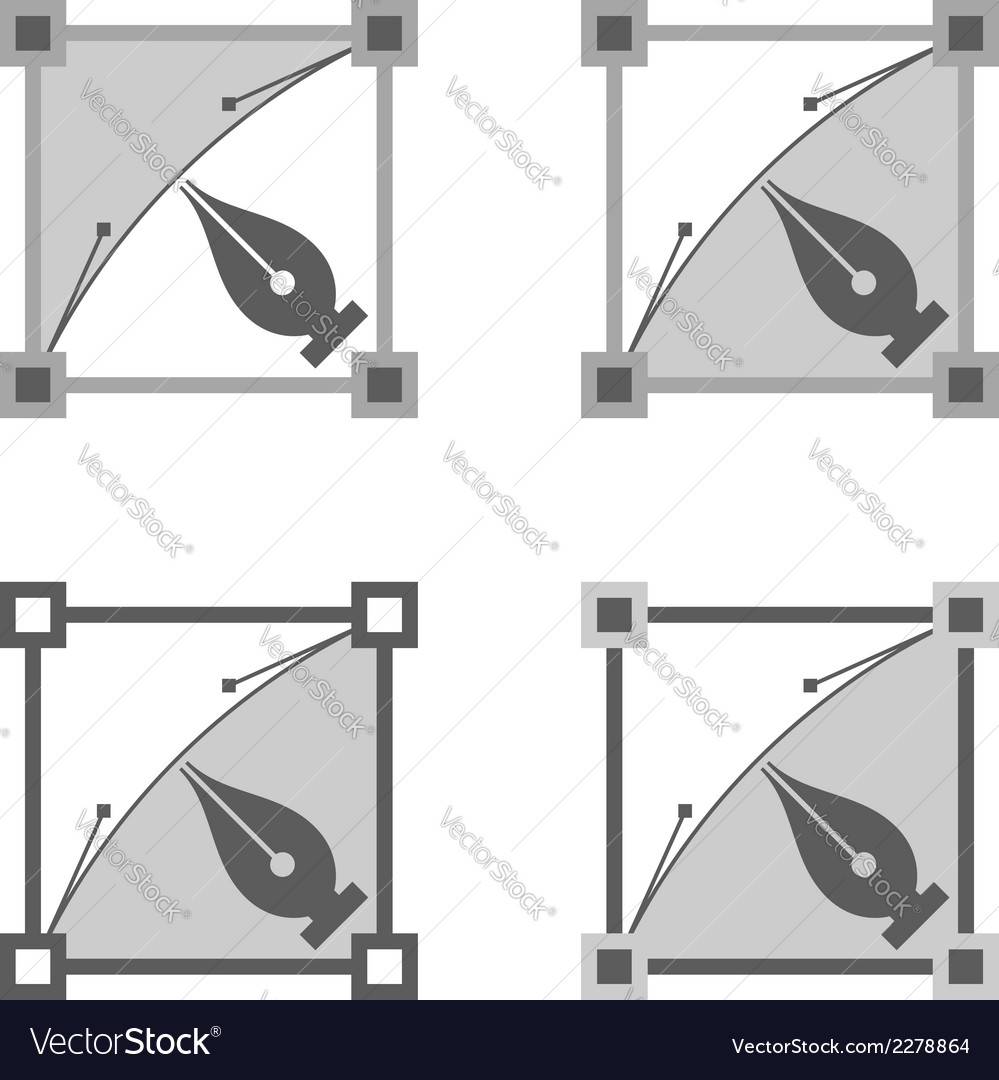 Four squares vector | Price: 1 Credit (USD $1)
