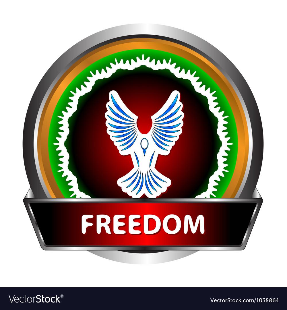 Freedom icon vector | Price: 1 Credit (USD $1)