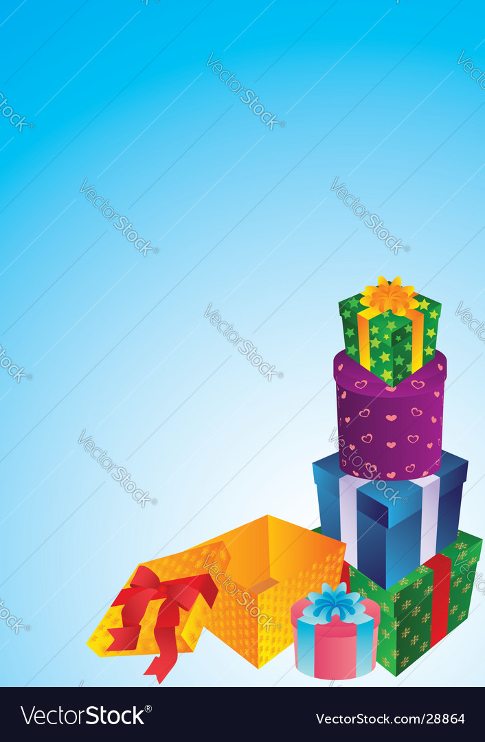 Gifts vector   Price: 1 Credit (USD $1)