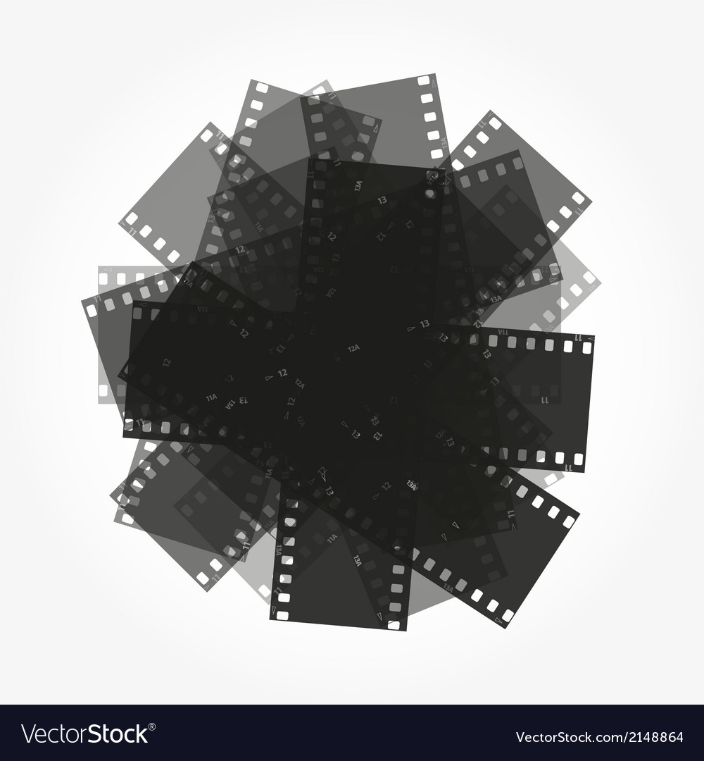 Trimming of the film background vector | Price: 1 Credit (USD $1)