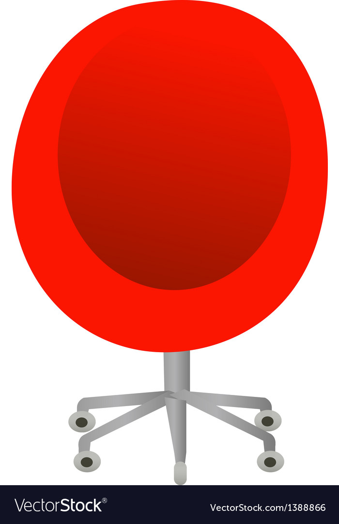 A view of a chair vector | Price: 1 Credit (USD $1)