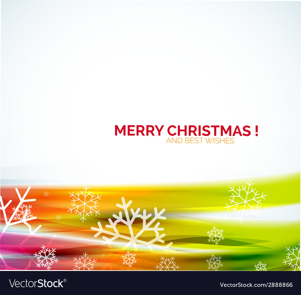 Christmas abstract background colorful line vector | Price: 1 Credit (USD $1)