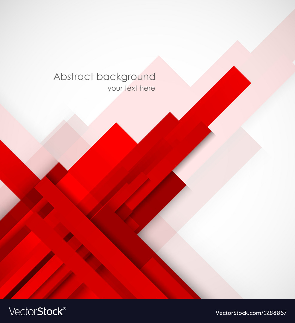 Abstract background with red lines vector | Price: 1 Credit (USD $1)