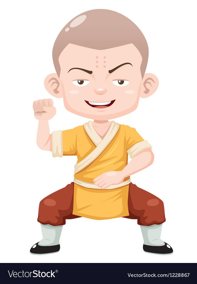 Kung fu kid vector | Price: 3 Credit (USD $3)
