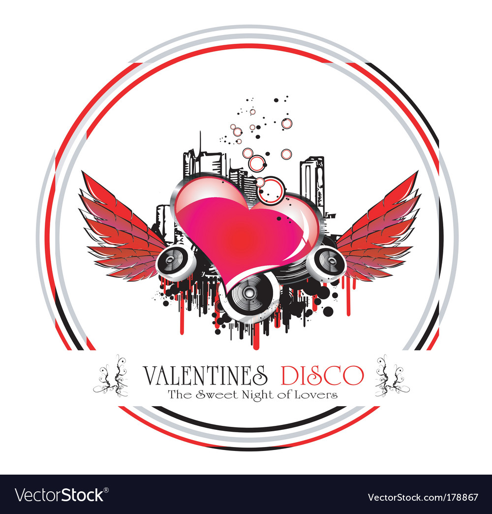 Valentines background vector | Price: 3 Credit (USD $3)