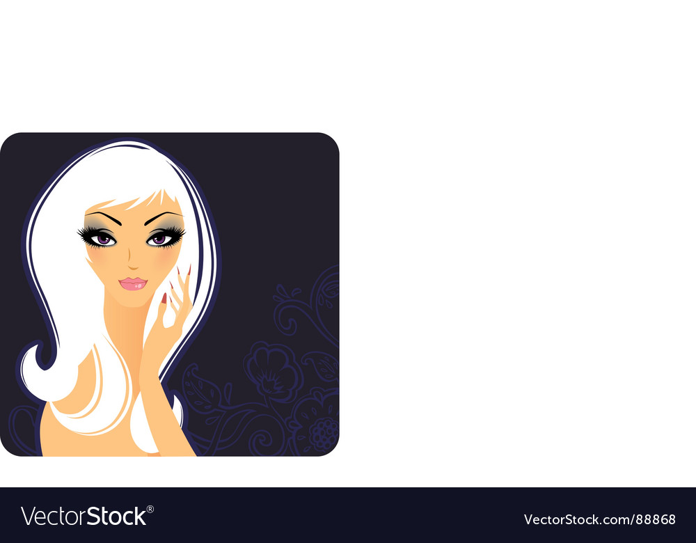 Girl beauty vector | Price: 3 Credit (USD $3)