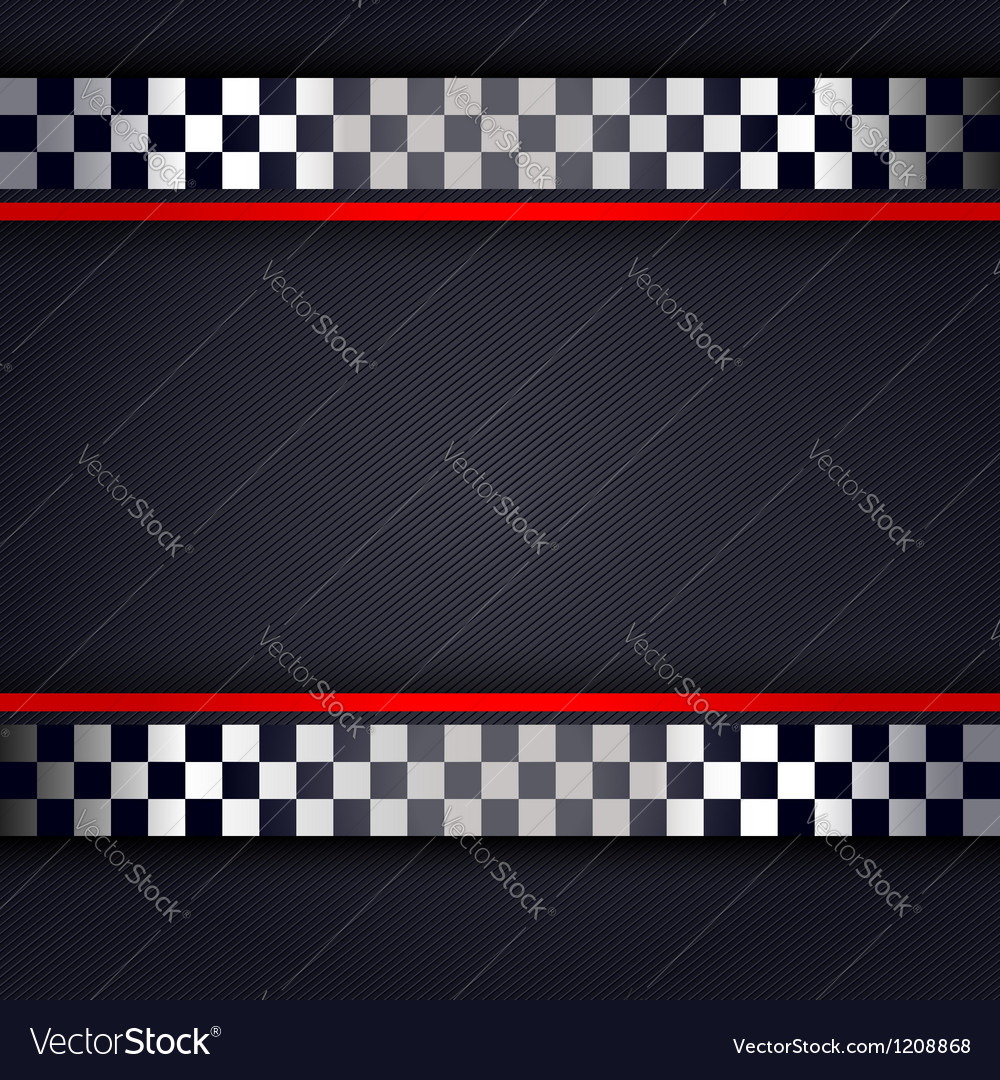 Perforated metallic sheet for race vector | Price: 1 Credit (USD $1)