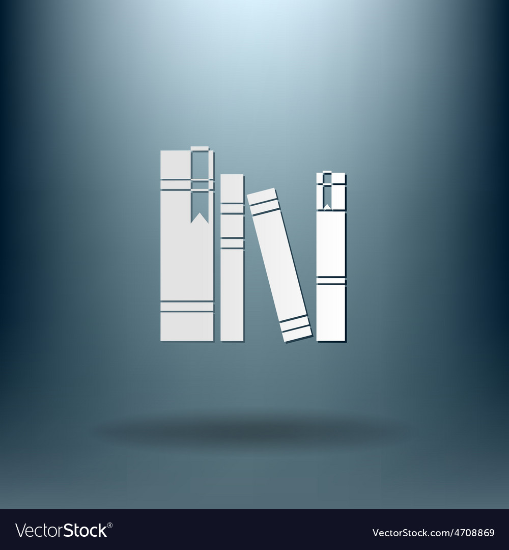Book spine spines of books vector | Price: 1 Credit (USD $1)