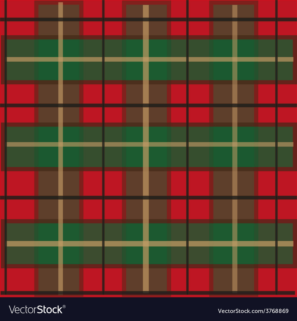 Tartan checked material vector | Price: 1 Credit (USD $1)