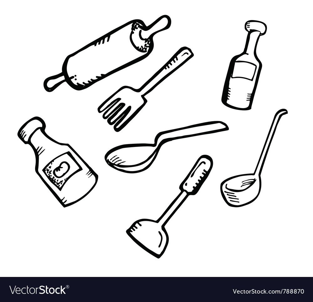 Cooking ware vector | Price: 1 Credit (USD $1)