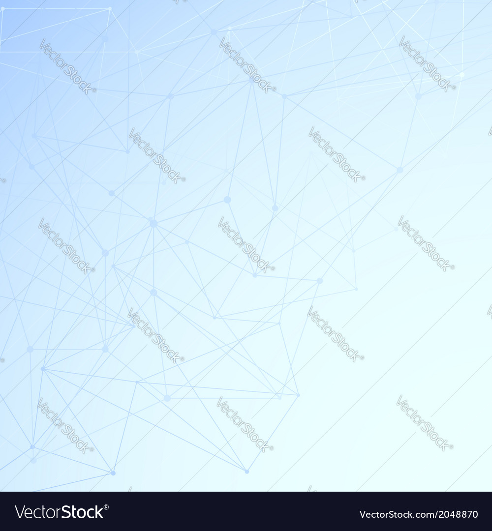 Modern networking background template vector | Price: 1 Credit (USD $1)