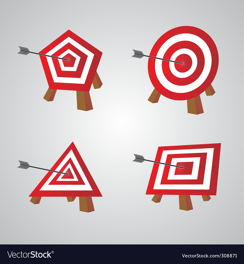 Bulls eye vector | Price: 1 Credit (USD $1)