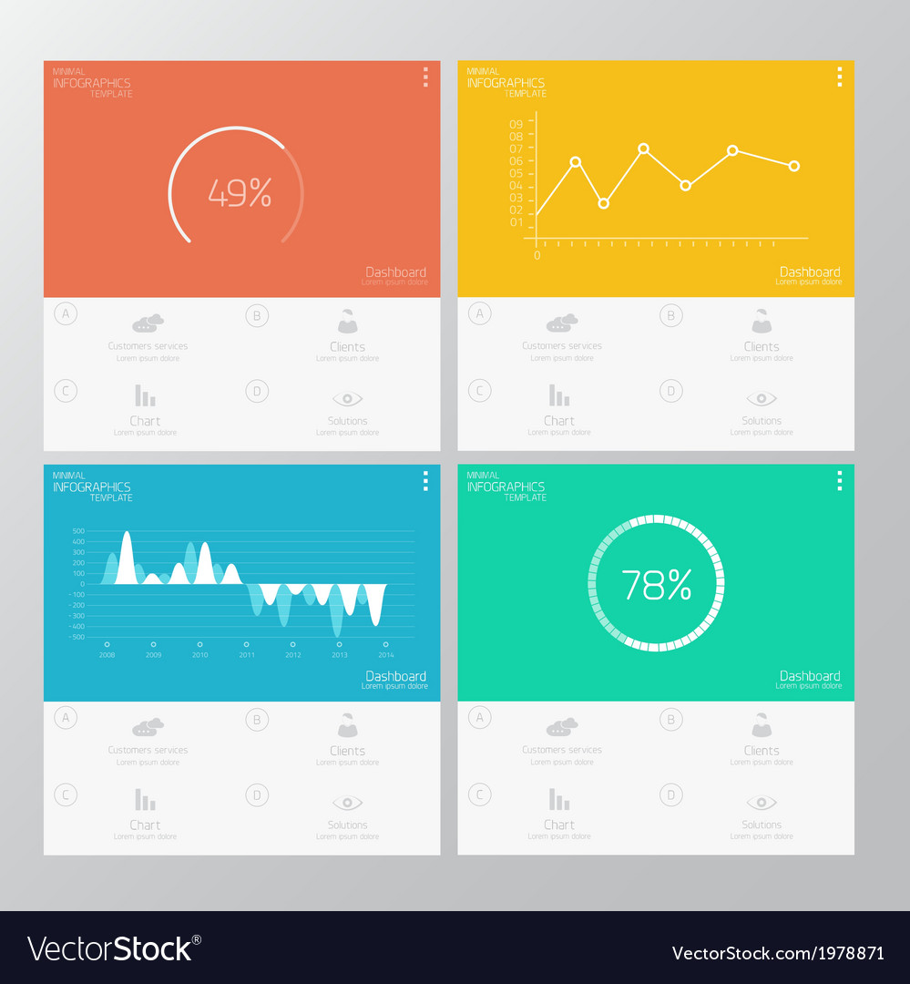 Infographics flat design vector | Price: 1 Credit (USD $1)