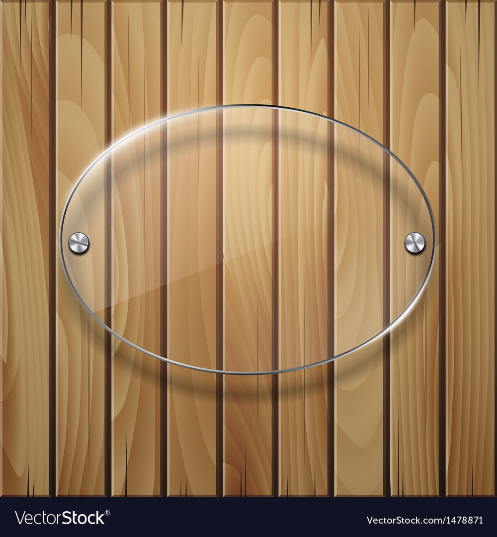 Wooden texture with glass framework vector | Price: 1 Credit (USD $1)