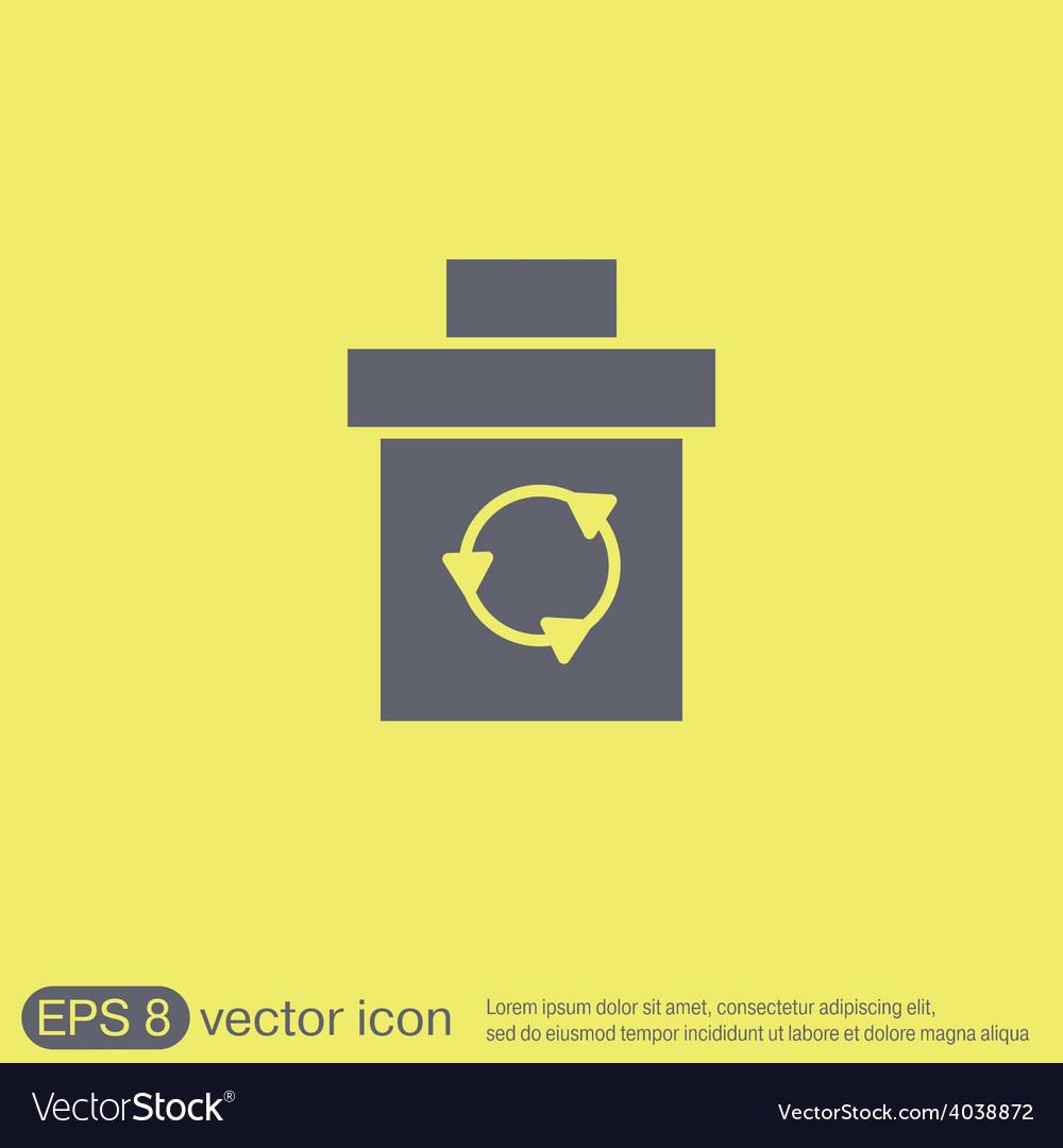 Basket garbage vector   Price: 1 Credit (USD $1)