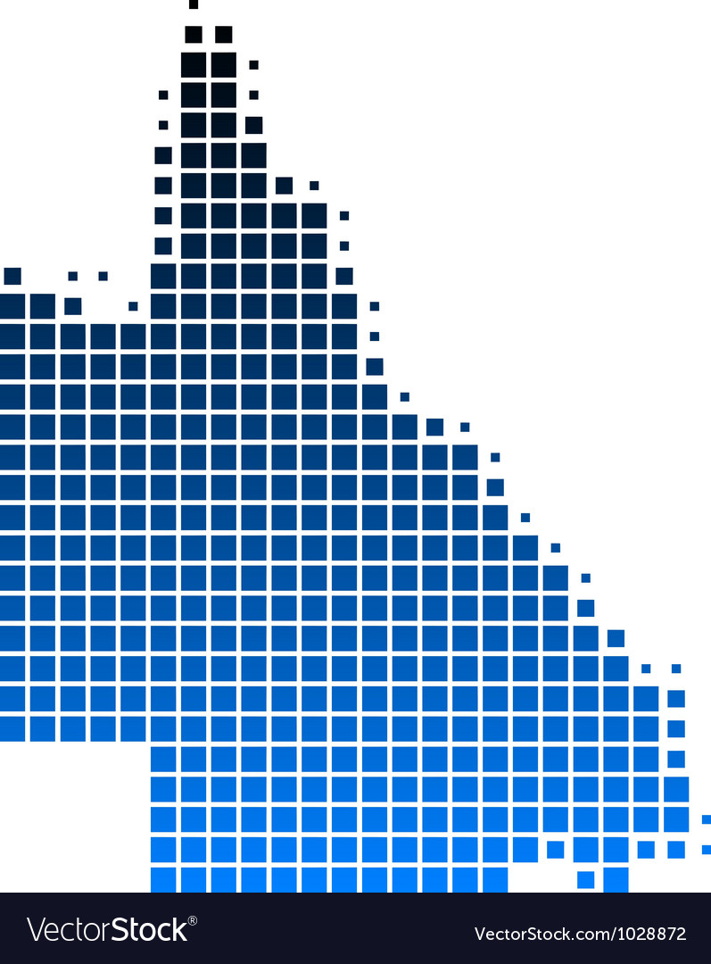 Map of queensland vector   Price: 1 Credit (USD $1)